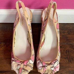 Coach women's wedge heels size 7.5